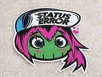Status Error Girl Hot Bling Trick / Kawaii / Hook Ups / Cute / Jdm / Japan