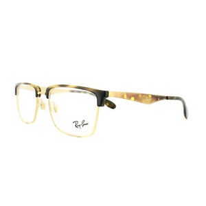 fc95ee3836 Ray-Ban Glasses Frames RX 6397 2933 Gold Havana Mens Womens 52mm ...