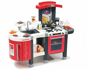 Image Is Loading New Smoby Tefal Super Chef Kitchen Childrens Kitchens