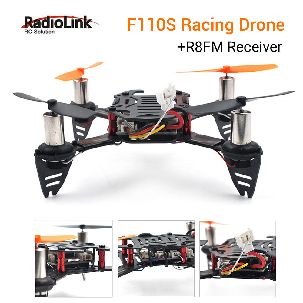 Radiolink F110S Mini RC Quadcopter Drone + R8FM Receiver Transmitter CS360 Heli
