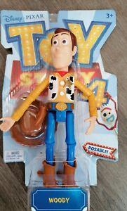 Mattel Disney Pixar Toy Story 4 Sheriff Woody Action Figure