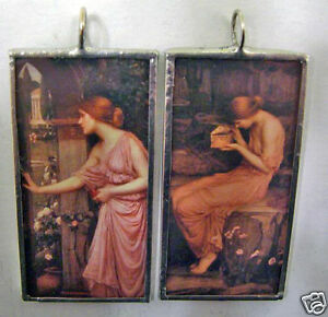 WATERHOUSE-PSYCHE-ART-GLASS-PENDANT