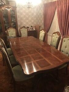 Vintage Thomasville Dining Room Table, Used Thomasville Dining Room Set