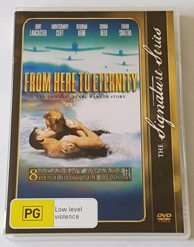 1 of 1 - From Here To Eternity DVD, 2002 The Signature Series Like New (#DVD01355)