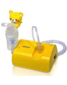 Omron-NE-C801S-Kinder-Kompressor-Vernebler-Atem-Therapie-Medizin-Inhalator