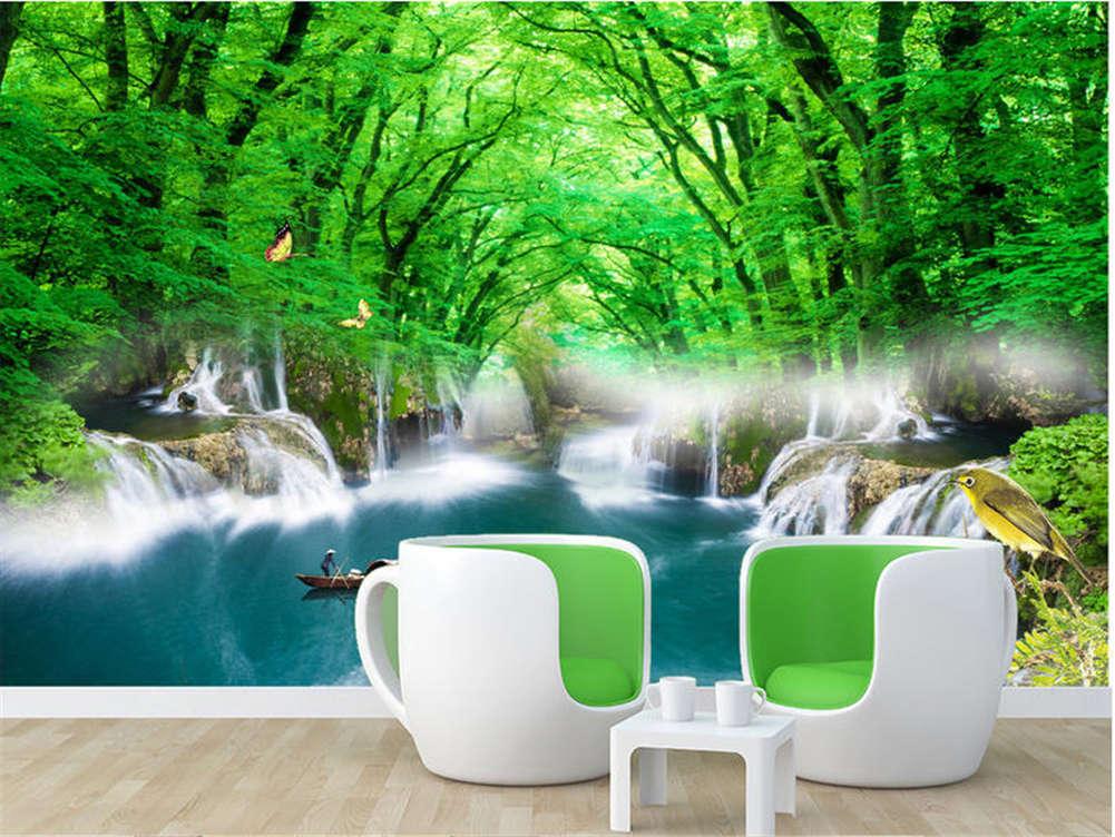 Leisure Dense Branch 3D Full Wall Mural Photo Wallpaper Printing Home Kids Decor