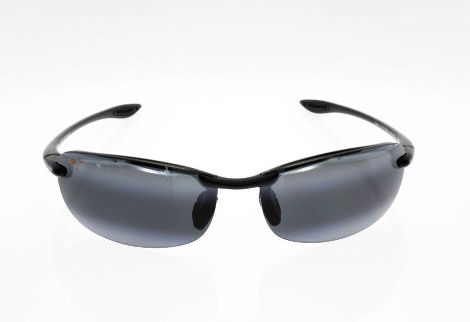 Sonnenbrille Polarisiert Maui Jim Makaha Schwarz Glänzend Grau Neutral 405 405 405 02  | Online-verkauf  00c9fb