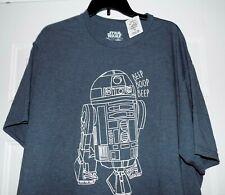 R2D2 STAR WARS PATENT SHIRT XXL 2XL TShirt robot droid Lucas McQuarrie art
