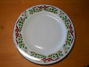 Domestications 12 DAYS OF CHRISTMAS Set of 8 Dinner Plates 10 1/2 ...