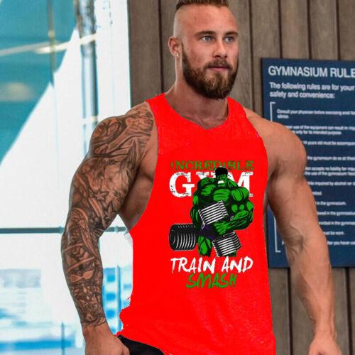 men gyms bodybuilding workout gym singlet vest Bodybuilding Stringer Tank Tops