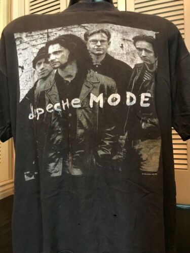 VTG Depeche Mode 93 Devotional Tour Shirt Sz XL Ba