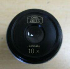 Carl Zeiss 10x Microscope Eyepiece Od 30mm