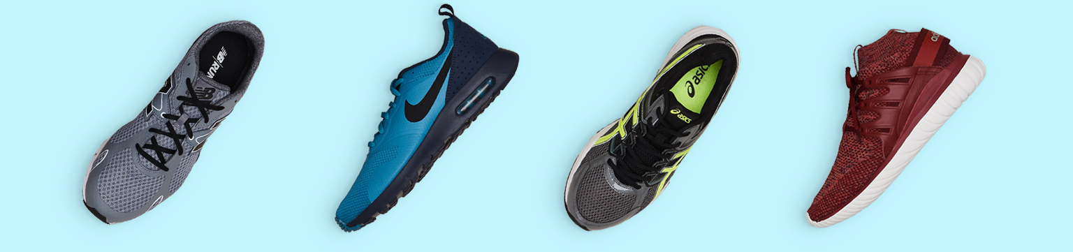 Men's athletic shoes from $29.99.