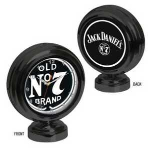 Jack Daniel's Clock Tabletop Neon Old No. 7 logos Quartz Time Piece JD-36602