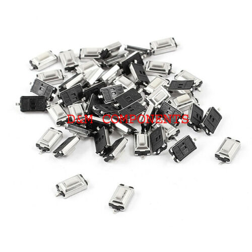 Quality Tactile Push Button  SPST Miniature//Mini//Small PCB Switch//Various Sizes
