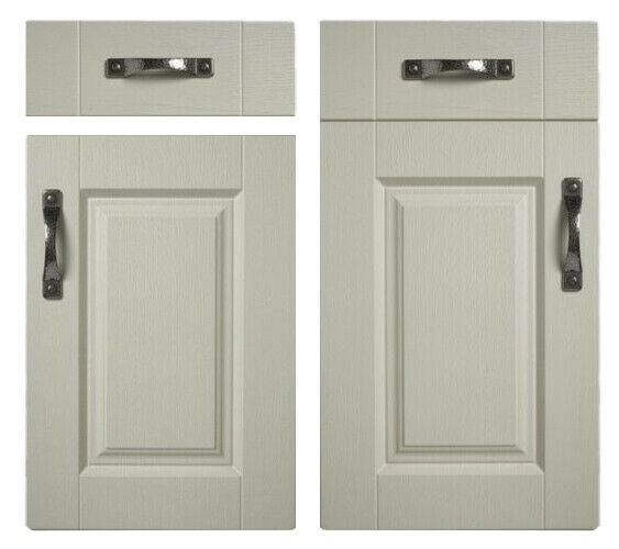 Gresham White Shaker Matt Finish Kitchen Drawer Fronts Cupboard Cabinet Doors 1245 X 395 Door No For Sale Ebay