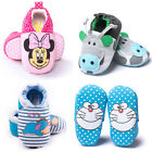 Baby Girl Boy Cotton Cartoon Crib Shoes Newborn Toddler Soft Sole Prewalker