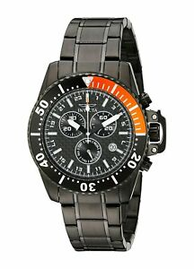 Invicta-11290-Pro-Diver-Men-039-s-44mm-Black-Stainless-Steel-Black-Dial-Watch