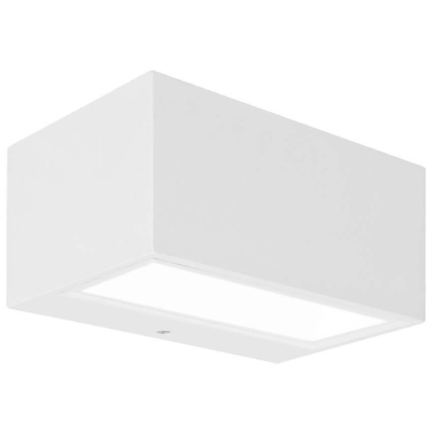 LED Außenwandleuchte Außenlampe GEMINI weiss Up Down IP54 LEDs 10W 500lm LUTEC