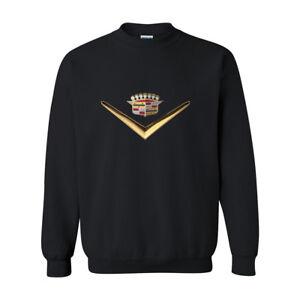 ronde sweatshirt met M Cars Xs hals L Prestige Xl Suvs Crown Cadillac S King Sweatshirt w1x0qYZ7X