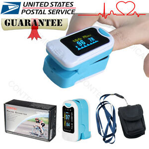 FDA CONTEC Finger tip Pulse Oximeter Blood Oxygen meter SpO2 Heart Rate Monitor 790996133850