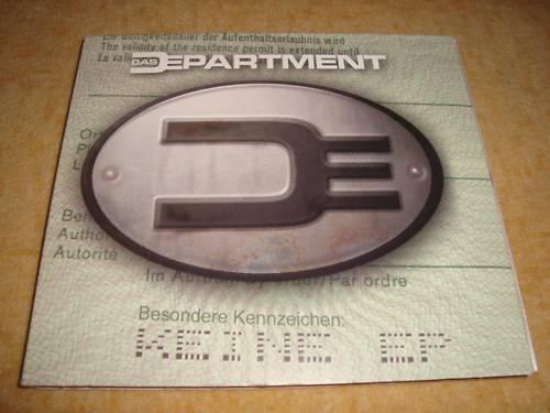 DAS DEPARTMENT - Besondere Kennzeichen: Keine EP