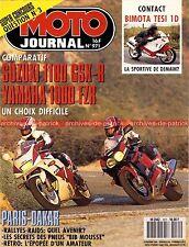 MOTO JOURNAL  971 SUZUKI GSX-R 1100 YAMAHA FZR 1000 BIMOTA TESI DUCATI 851 1991
