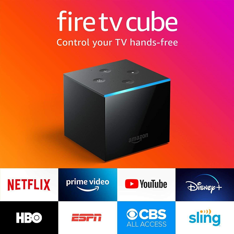 All-new Fire TV Cube 2nd Generation Alexa 4K Ultra HD Streaming Player 2019 2nd alexa cube fire generation player streaming ultra