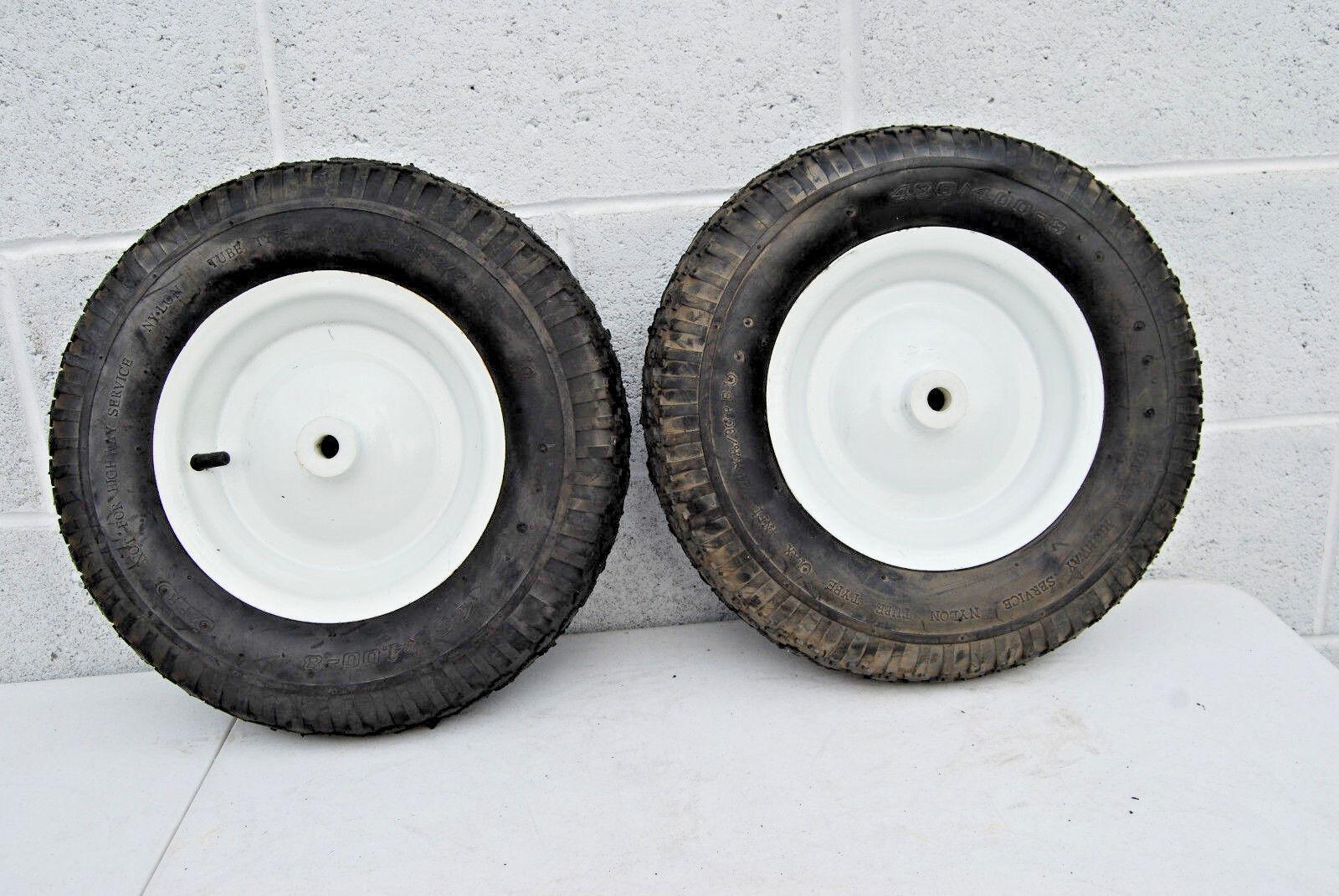 480 4.00-8, 2 pr Cocheretilla Neumático & Conjunto De Ruedas (varios cantidades)  M4321