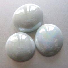 100 g Glasnuggets perlmuttweiß-opak