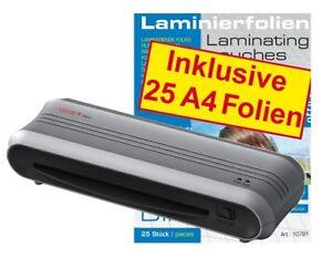 GENIE-F9011-Laminiergeraet-25-DIN-A4-Laminierfolien-80-mic-Laminiertaschen-Set
