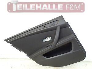 BMW-E61-5er-Touring-Tuerverkleidung-hinten-links-Stoff-Fluid-anthrazit-ALAT