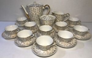 Coffee-Service-Porcelain-Digoin-amp-Sarreguemines-10-Pers