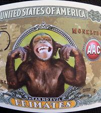 Monkeys FREE SHIPPING! Million-dollar novelty bill