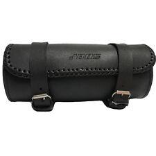 Motorrad Werkzeugtasche, Leder, Lenkertasche:Schwarz Leder Werkzeugtasche Tasche