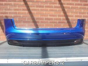 AUDI-RS4-B8-REAR-BUMPER-WITH-PDC-HOLES-2014-ONWARDS-GENUINE-AUDI-PART-W3
