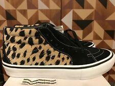 01b7e49637 item 2 Vans x Supreme SK8-Mid Pro Cheetah Velvet Sz 8 Black White Beige SS17  -Vans x Supreme SK8-Mid Pro Cheetah Velvet Sz 8 Black White Beige SS17