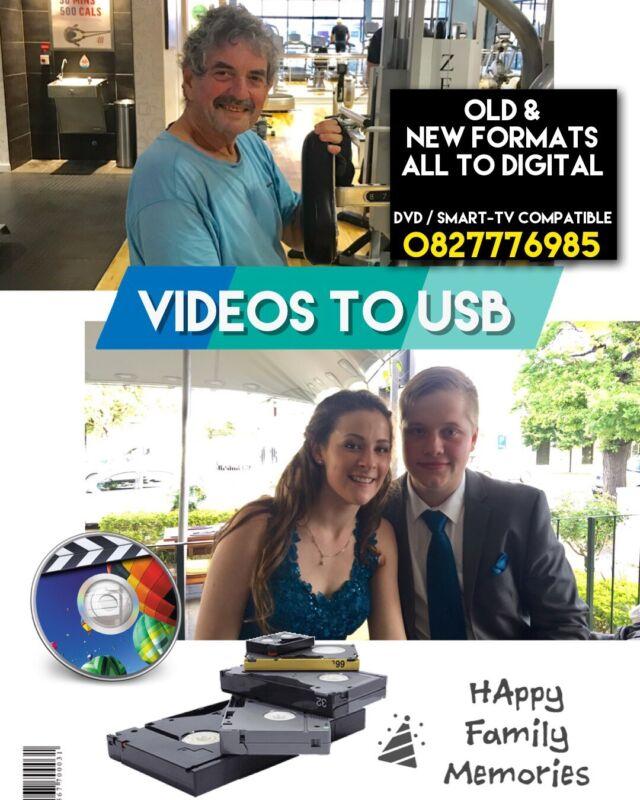 Save your  Family Memories ( Videos / Photos / Audio ) to Digital Media