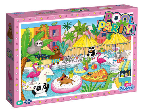 Little Gibsons Pool Party 100 Pieces Jigsaw Puzzle Jouets 5 ans enfants
