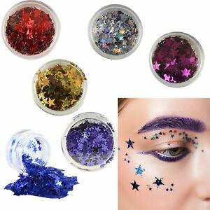 Stargazer-Stars-Loose-Face-Gems-Glitter-Body-Art-Festival-Dance-Stage-UK-Stock