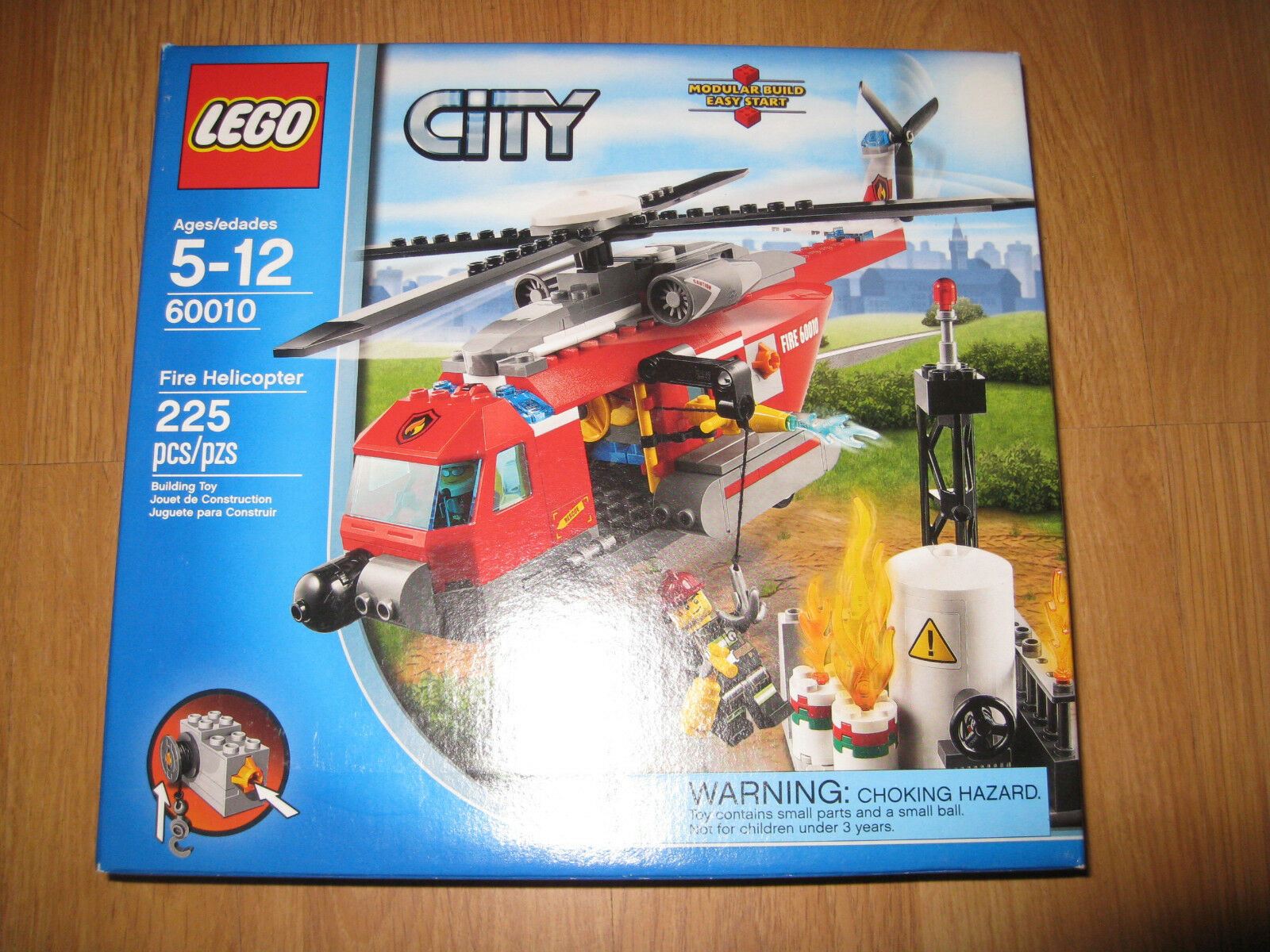 LEGO City 60010 Fire Helicopter Brand New Sealed