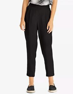 Ralph Lauren Womens Size 8 Black Pocketed Pants B+B Cropped New