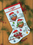 Dimensiones-Oro-contado-Cross-Stitch-Kit-Navidad-Stocking-Santa-Muneco-de-nieve miniatura 12