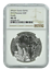 2018 Rwanda 1oz Silver Giraffe Coin NGC MS70 Brown Label
