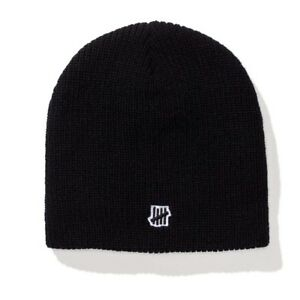 Image is loading Undefeated-5-Strike-Beanie-black 7abac666359a