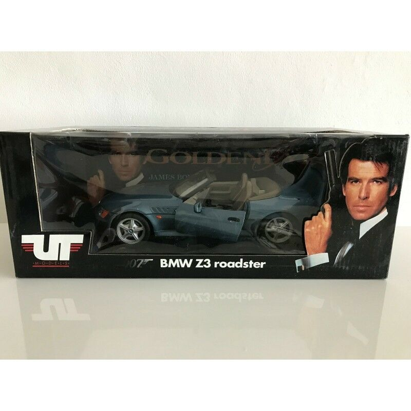 UT MODELS 180024336 BMW Z3 JAMES BOND 007 orENEYE 1.18 NB