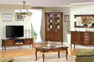 GroB Das Bild Wird Geladen Wohnzimmer Set  Vitrine RTV Couchtisch Kommode Klassische Italienische