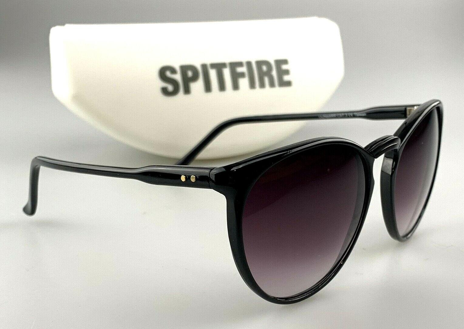 Spitfire Sunglasses mod. Dunbarr Black Cat Eye Shades With Case