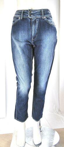 Jeans Donna Pantaloni MET Italy CB23 Blu Tg 28 29 30 conformata veste grande
