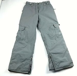 Ride Snowboard Women Cargo Pants Size Medium Light Gray Ebay